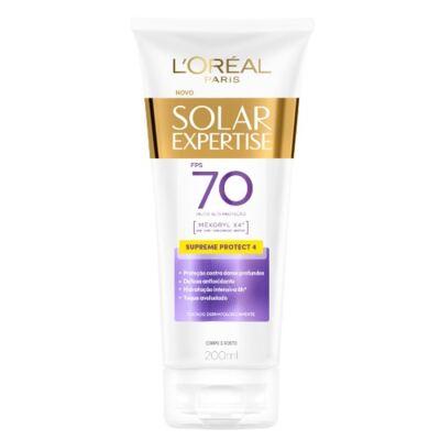 Protetor Solar L'Oréal Expertise Supreme FPS 70 200ml