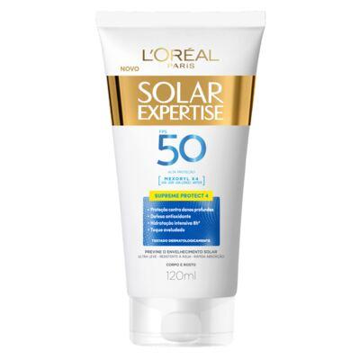 Imagem 1 do produto Protetor Solar L'Oréal Expertise Supreme FPS 50 120ml