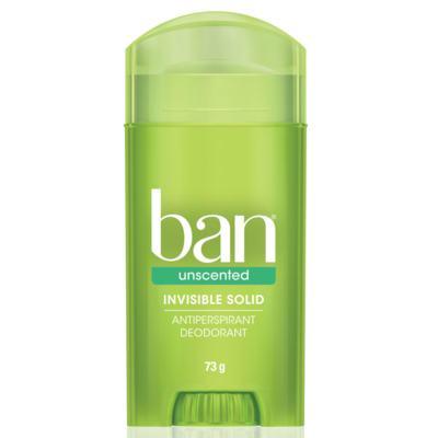 Desodorante Stick Ban Unscented Sem Perfume 73g