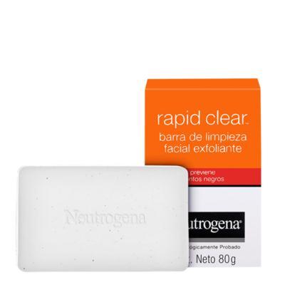 Sabonete Esfoliante Facial Neutrogena Rapid Clear - 80g