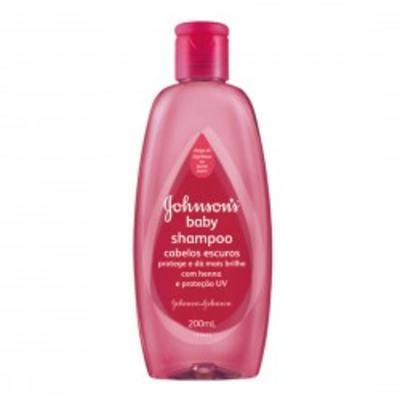 Imagem 1 do produto Shampoo Johnson's Baby Cabelos Escuros 200ml