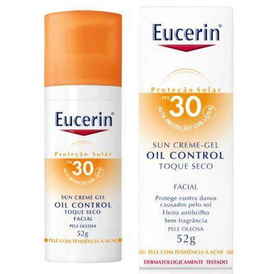 Protetor Solar Facial Eucerin Oil Control Toque Seco FPS30 52g