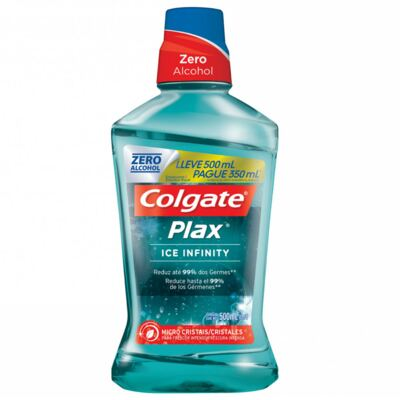Antisséptico Bucal Colgate Plax Ice Infinit 500ml