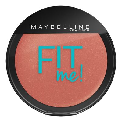 Maybelline Blush Fit Me! Cor 03 Nasci Assim