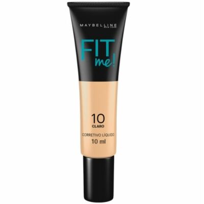 Maybelline Corretivo Fit Me! Cor 10 Claro 10ml