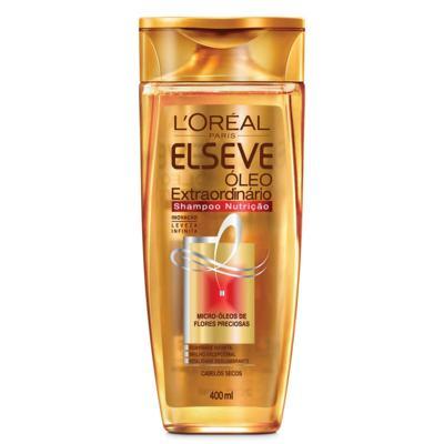 Shampoo Elseve Óleo Extraordinário Nutrição 400ml