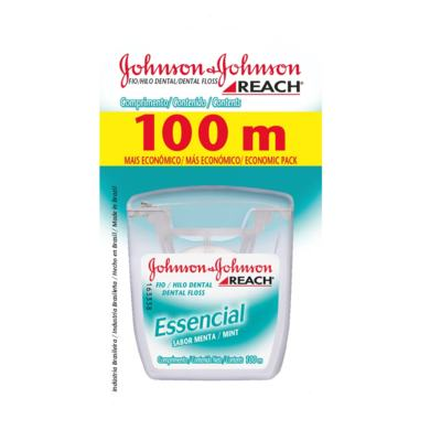 Fio Dental Johnson´s Essencial Menta 100m
