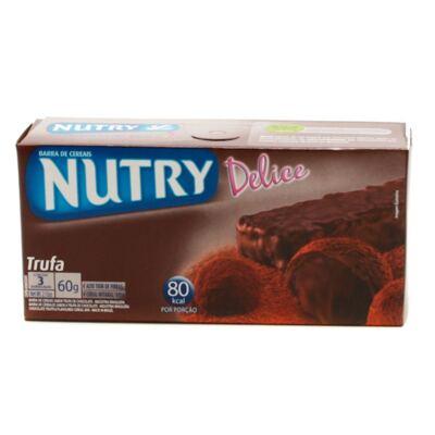 Barra de Cereal Nutry Delice Trufa 20g 3 Unidades