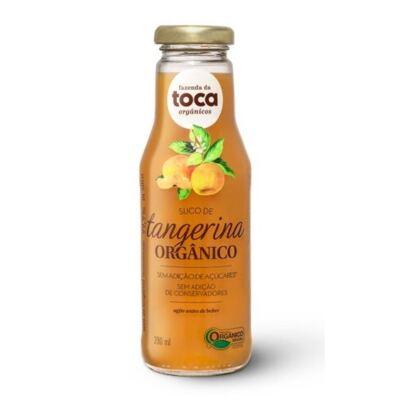 Imagem 1 do produto Suco de Tangerina Orgânico Integral Fazenda da Toca 280ml