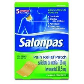 Salonpas Pain Relief Patch - 5 adesivos transdérmicos