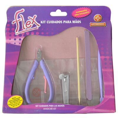 Imagem 6 do produto Kit Secador Viagem Lizz Mini 1500 Bivolt + Kit Flex Mundial Cuidado para Mãos 6 Peças