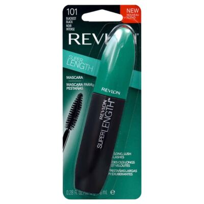 Máscara de Cílios Revlon Super Length 101 Blackest Black 8,5ml