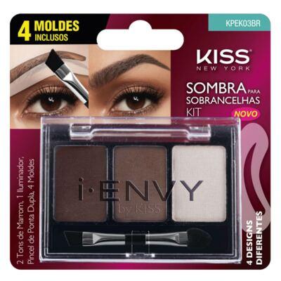 Imagem 1 do produto Kit Sombra Para Sobrancelhas Kiss New York
