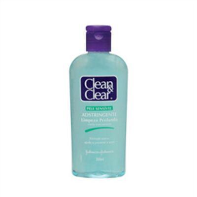 Adstringente Facial Johnson's Clean & Clear Pele Sensível 200ml