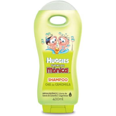 Imagem 1 do produto Shampoo Turma da Mônica Chá de Camomila 400ml