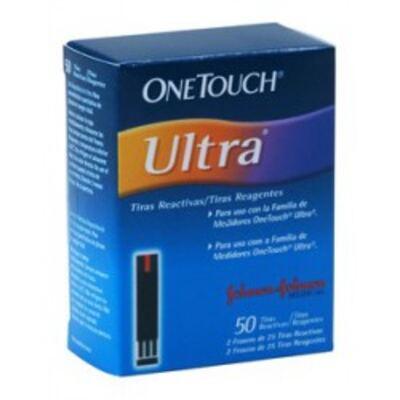 Tiras One Touch Ultra Johnson's com 50 Unidades