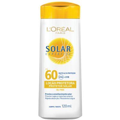 Protetor Solar L'Oréal Expertise FPS 60 120ml