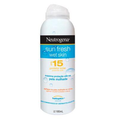 Protetor Solar Neutrogena Sun Fresh FPS 15 Aerosol 180ml