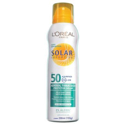 Protetor Solar L'Oréal Expertise Spray FPS 50 200ml