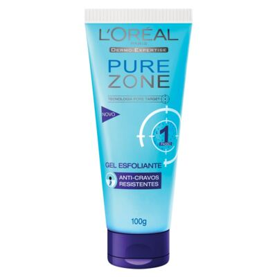 Imagem 1 do produto Gel Esfoliante Pure Zone Anti-Cravos – 100g - L'Oréal