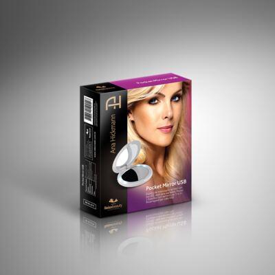 Imagem 5 do produto Espelho Ana Hickmann com LED Pocket Mirror USB Relaxbeauty
