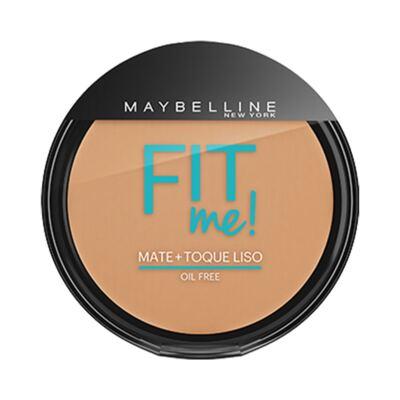 Maybelline Pó Compacto Mate + Toque Liso Fit Me! Cor 200 Médio Único