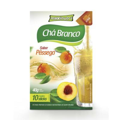 Chá Branco Tisana Maxinutri Pêssego 40g