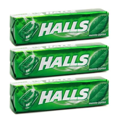 Imagem 2 do produto Drops Bala Halls Sabor Menta 3 Unidades