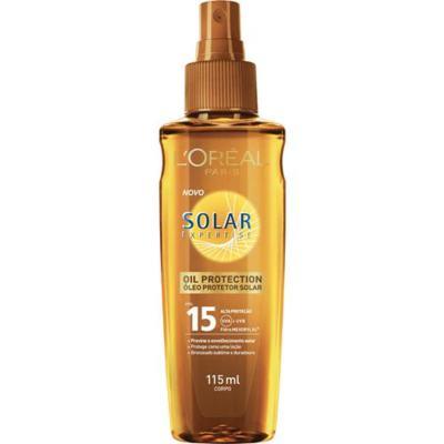 Imagem 1 do produto Protetor Solar L'Oréal Paris Solar Expertise Oil Protection SPF 15 - 115ml