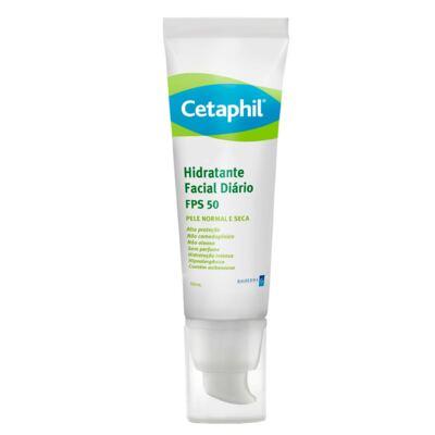 Imagem 1 do produto Cetaphil Hidratante Facial Diário FPS50 - Hidratante Facial - 50ml