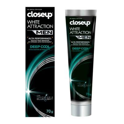 Gel Dental Close Up White Attraction Men Deep Cool 70g