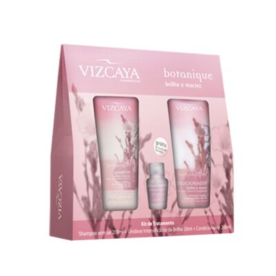 Kit Vizcaya Botanique Brilho e Maciez - Kit
