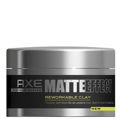 Imagem 1 do produto Axe Matte Effect Reworkable Clay - Pomada Modeladora - 93g