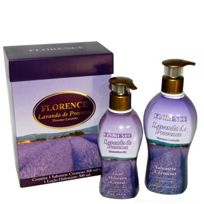 Imagem 3 do produto Lavanda de Provence Florence - Kit Sabonete Cremoso 500ml + Loção Corporal 300ml - Kit