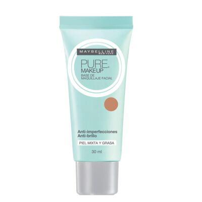 Imagem 2 do produto Pure Makeup Maybelline - Base Facial - Dourado