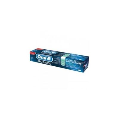 CREME DENTAL ORAL B CLINICAL GENGIVAS 70G PROCTER - BRINDE - CREME DENTAL ORAL B CLINICAL GENGIVAS 70G PROCTER