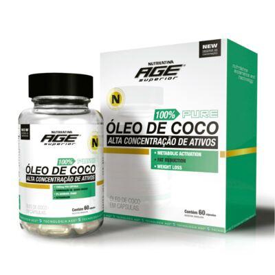 Óleo de Coco Nutrilatina 60 Cápsulas