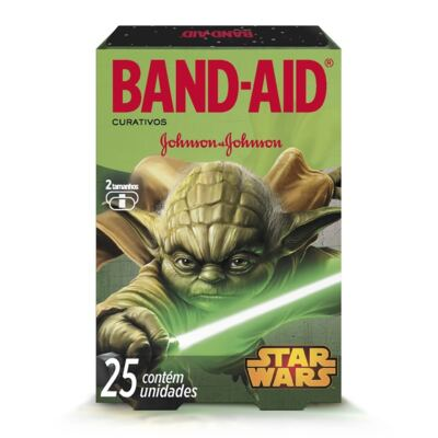 Curativo Band-Aid Star Wars Johnson´s 25 Unidades