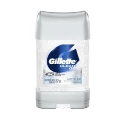 Desodorante Clear Gel Gillette Masculino Artic Ice 82g