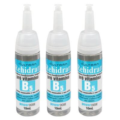 Vitamina B5 Rehidratt Ultran 10ml 3 Unidades