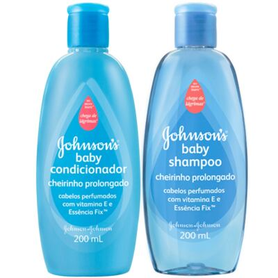 Kit Shampoo + Condicionador Johnson´s Baby 200ml