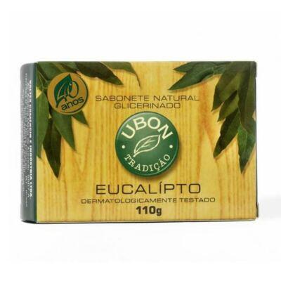 Imagem 1 do produto Ubon Sabonete Glicerinado Eucalipto 110g