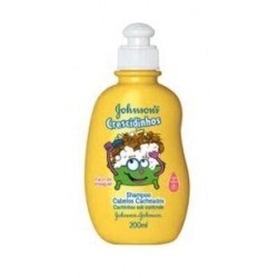Shampoo Johnson´s Crescidinhos Cacheados 200ml