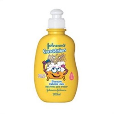 Imagem 2 do produto Shampoo Johnson´s Crescidinhos Lisos 200ml