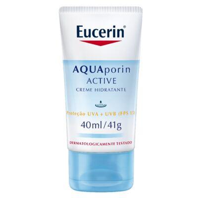 Imagem 1 do produto Eucerin Creme Hidratante Facial Aquaporin Active FPS15 40ml
