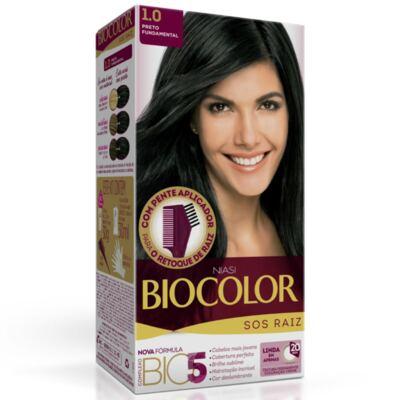 Kit Biocolor Tintura S.O.S Preto 1.0