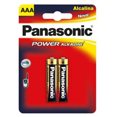 Panasonic Pilha Alcalina Palito LR03 2 Unidades