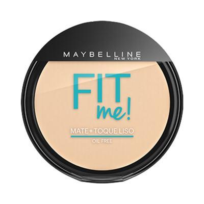 Maybelline Pó Compacto Mate + Toque Liso Fit Me! Cor 000 Translúcido Essencial