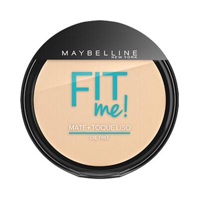Imagem 2 do produto Maybelline Pó Compacto Mate + Toque Liso Fit Me! Cor 000 Translúcido Essencial