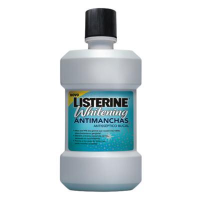 Antisséptico Bucal Listerine Whitening Anti-Mancha 500ml + 250ml
